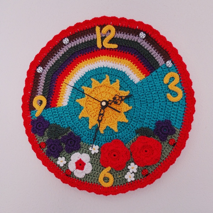 Crochet ò clock. ~