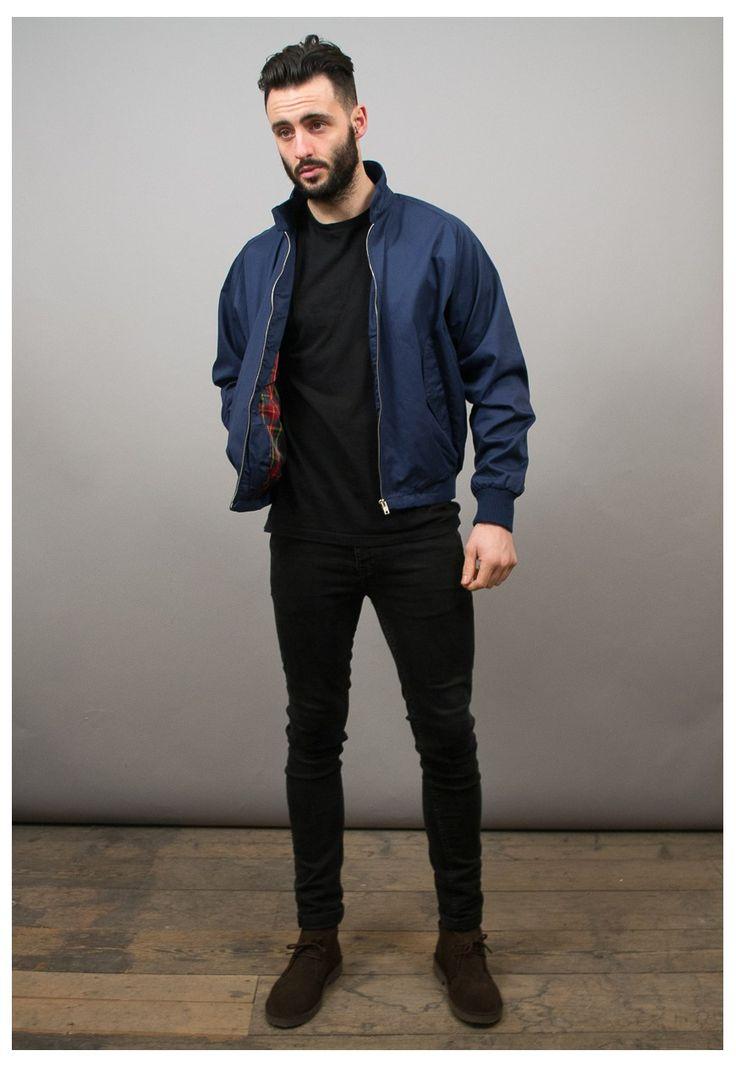 how to wear a harrington jacket