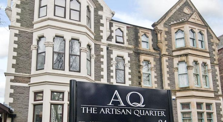 The Artisan Quarter Serviced Apartments Cardiff With free parking, The Artisan Quarter Serviced Apartments are located a few minutes' walk from Cardiff city centre and The Millennium Stadium.