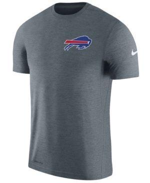 Nike Men's Buffalo Bills Coaches T-shirt - Black XL