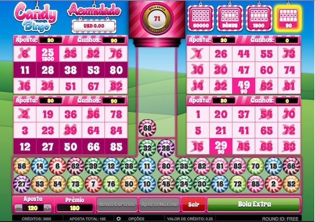Descubra o doce mundo do Candy Bingo, um novo Vídeo Bingo que virou sensação em pouco tempo.