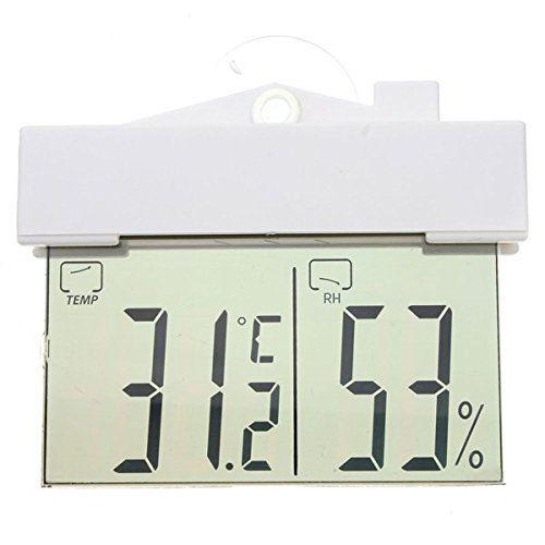 Digital Display Window Thermometer