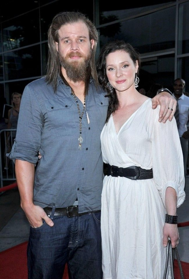Ryan Hurst and his pretty wife. | All my fangirl love ...