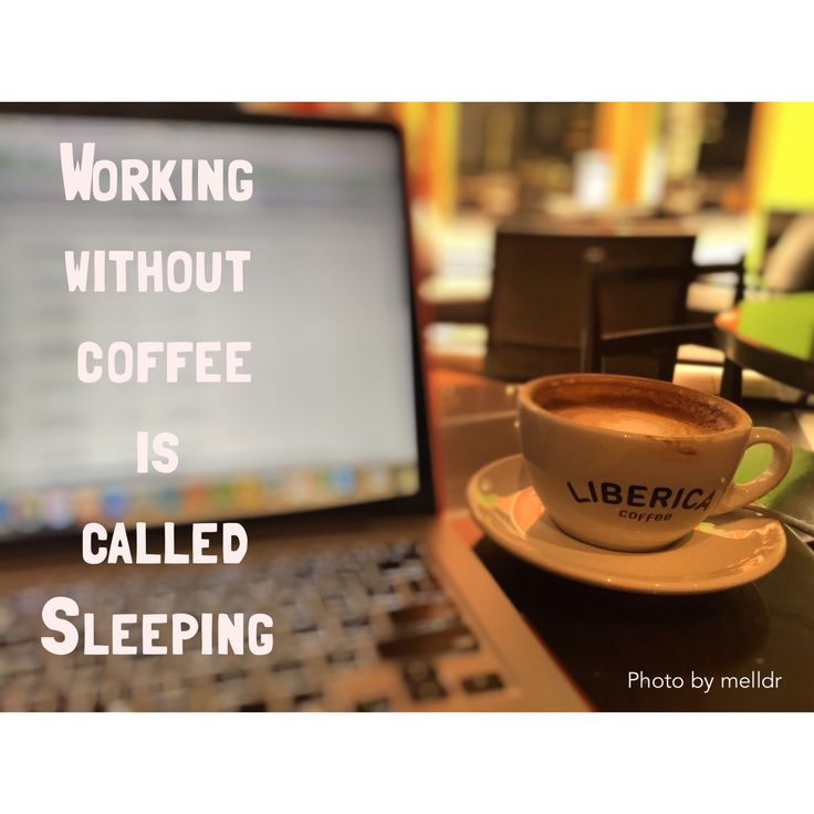 Working and sleep