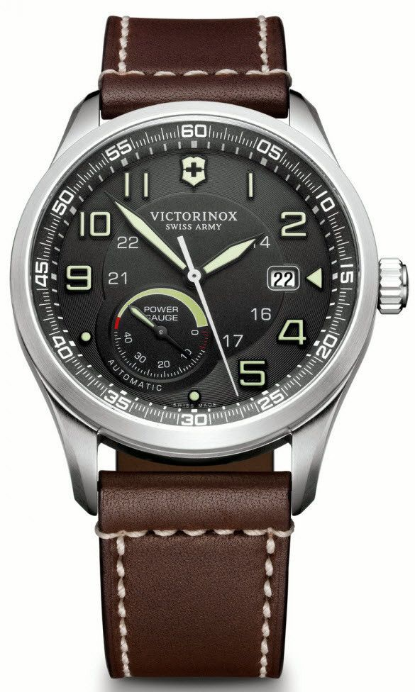Victorinox Swiss Army Watch AirBoss Mechanical #bezel-fixed #bracelet-strap-leather #brand-victorinox-swiss-army #case-material-steel #case-width-42mm #classic #date-yes #delivery-timescale-call-us #dial-colour-black #gender-mens #movement-automatic #official-stockist-for-victorinox-swiss-army-watches #packaging-victorinox-swiss-army-watch-packaging #power-reserve-yes #style-sports #subcat-airboss #supplier-model-no-241575 #warranty-victorinox-swiss-army-official-3-year-guarantee…