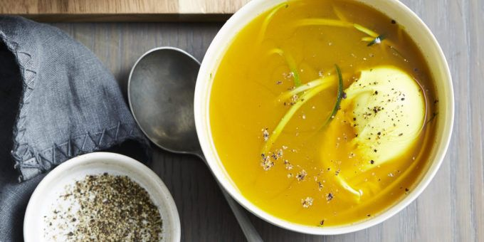 I Quit Sugar - Zingy Turmeric Broth