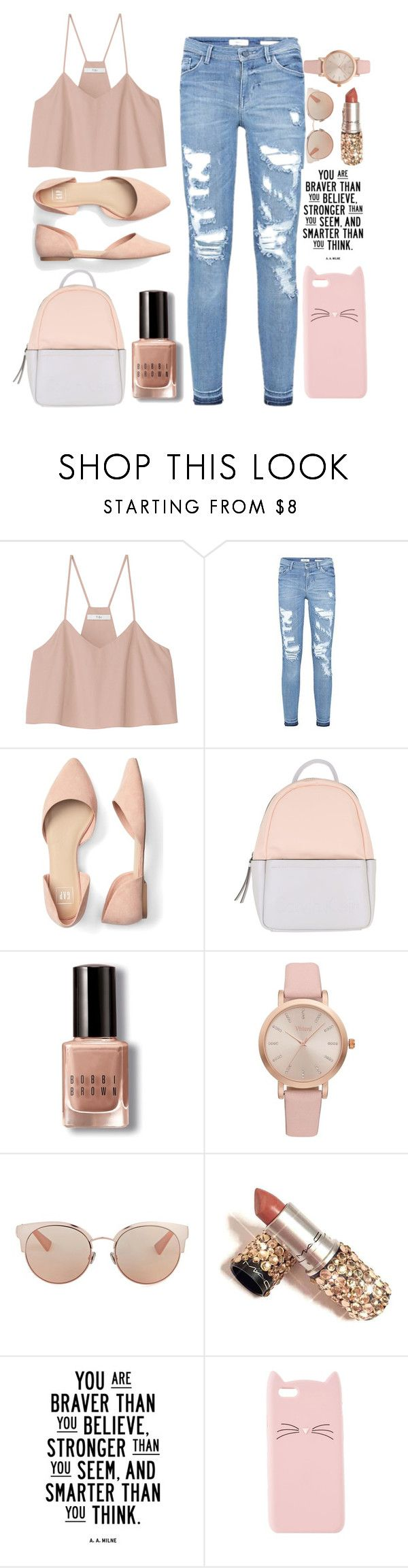 """""""In The Middle Of The Night, In My Dreams..."""" by summertime-sadness ❤ liked on Polyvore featuring TIBI, Calvin Klein, Bobbi Brown Cosmetics, Vivani, Christian Dior and Charlotte Russe"""