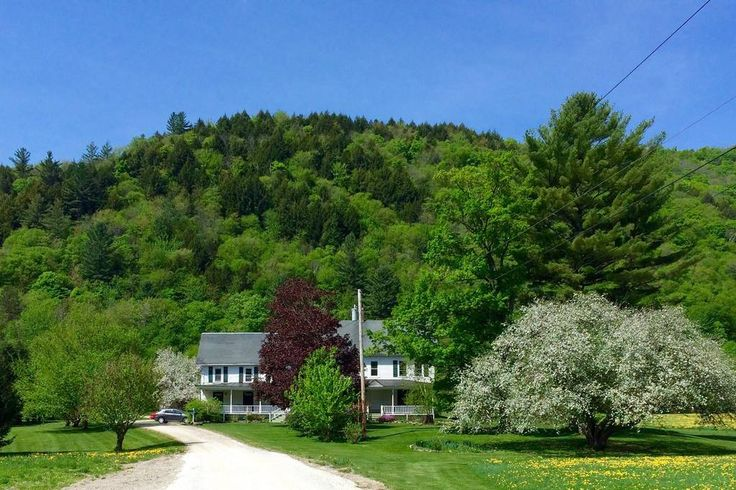 in Rochester, United States. A true Vermont classic, our large farmhouse was built in the 1830's and updated over the years to include all modern amenities. It sits well off the main road, is surrounded by farmland, and has a beautiful valley view yet is only 1/4 mile from to...