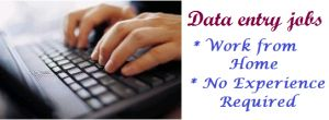 Data Entry Jobs for Housewives