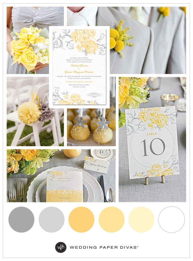 Today we are excited to share these yellow and grey wedding day ideas. We can hear the bells ringing with this beautifully bright vintage garden wedding!