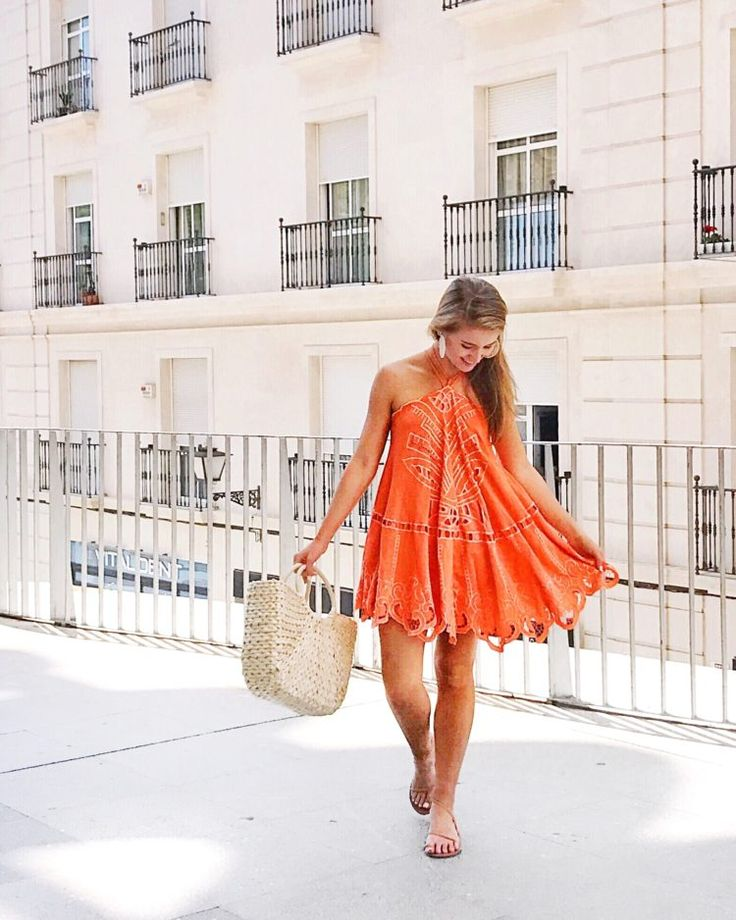 Spanish style dresses casual