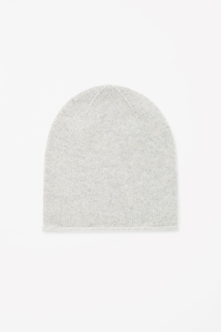 Relaxed cashmere hat