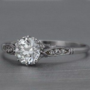 100 Simple Vintage Engagement Rings Inspiration (86)