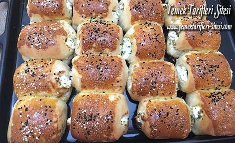 Peynirli Pofuduk Rulo Poğaça Tarifi