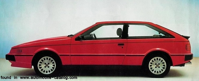 1987 Isuzu Piazza Turbo
