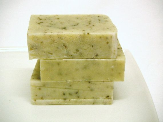 Organic soap  set of 3 handmade soaps  Lavender by botanicalsoap