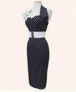 moda vintage abito anni 50 pois vivien of holloway