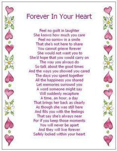 poem death anniversary for sister - Google Search