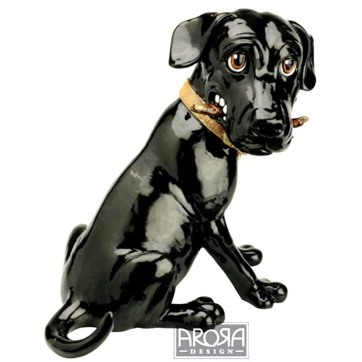 Pets with Personality Black Labrador Sweep Available @ Li'l Treasures $35. (International Shipping available)