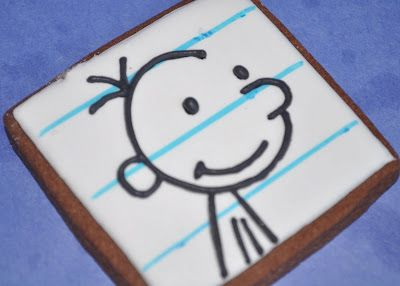 Diary of a Wimpy Kid cookie - COOOL!