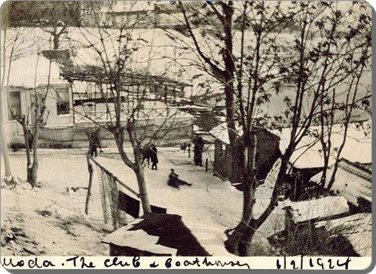 Moda Deniz Kulübü 1924, kadıköy, istanbul.
