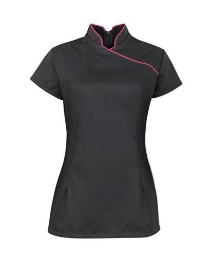 Ladies Women Style SPA Beauty Salon Beautician Tunics Shirts Tops Nail Massage Therapist Uniform, http://www.amazon.co.uk/dp/B00KPU9TAC/ref=cm_sw_r_pi_awdl_luU1ub0VXAT7Y