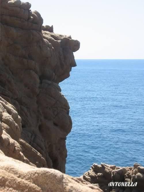 """Roccia """"Dante Alighieri"""" - Capo Pecora - Sardegna Ovest"""