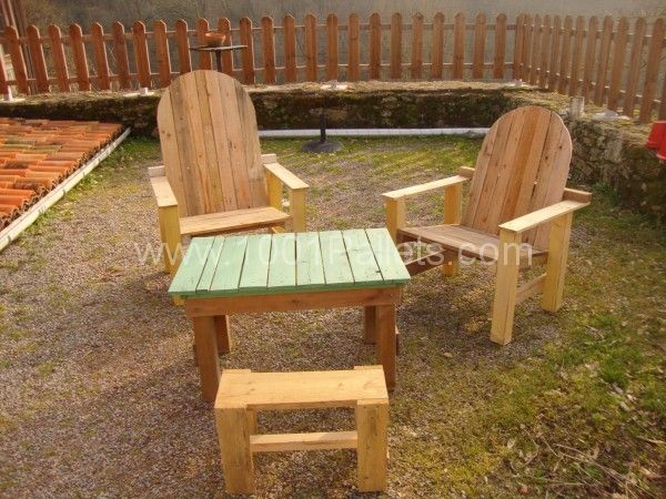 DSC054471 600x450 Pallet Garden lounge in pallet furniture pallet outdoor project  with Pallets Lounge Kids Garden Chair