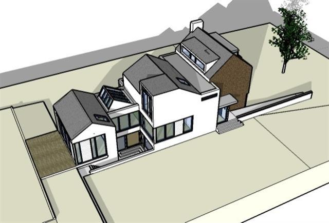 Proposed new dwelling design for semi detached development at site near Garryduff, Rochestown,Cork