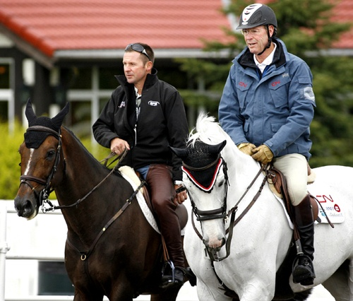 Hickstead and Eric Lamaze and Ian Millar and Redfin