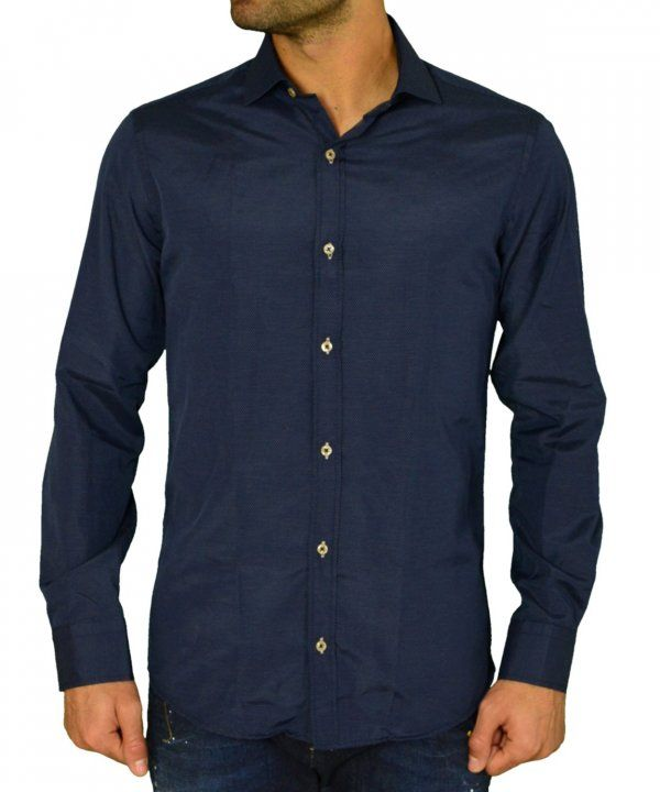Ανδρικό πουκάμισο Gio.S μπλε πουά 9550W17  ανδρικάπουκάμισα  ρούχα  στυλ   ντύσιμο 52a4d0fb5c0