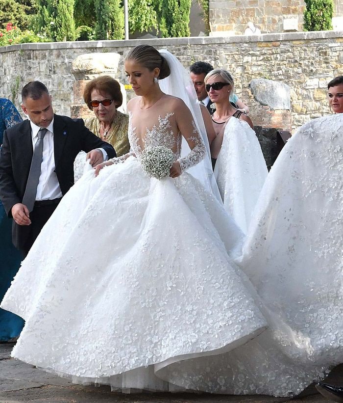 Victoria Swarovski y Werner Mürz se han casado en Trieste, Italia