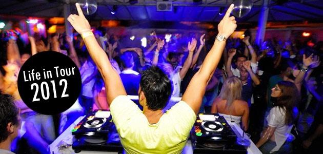 Life in Tour 2012 - Rivedi tutti i video delle serata nelle migliori discoteche con il First Class DJ Stefano Sorge