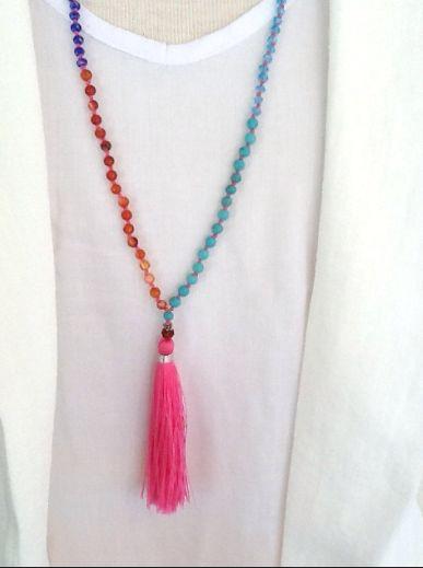 Wishable : DIY Tassel Necklace