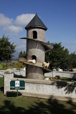 The Goat Tower of Fairview Cheese & Wine Farm- South Africa- only 20 minutes…