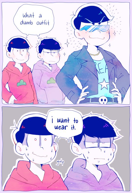 Osomatsu san, Oso, Ichi and Kara