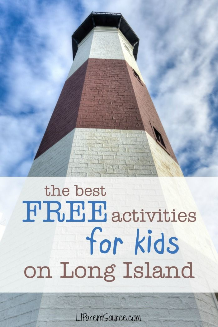 There are many free activities for kids on Long Island that could fill many of your days.