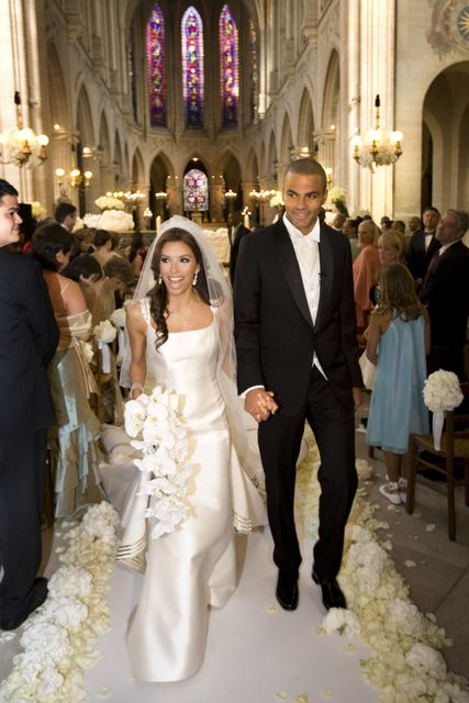 Eva Longoria and Tony Parker 2007 #Wedding