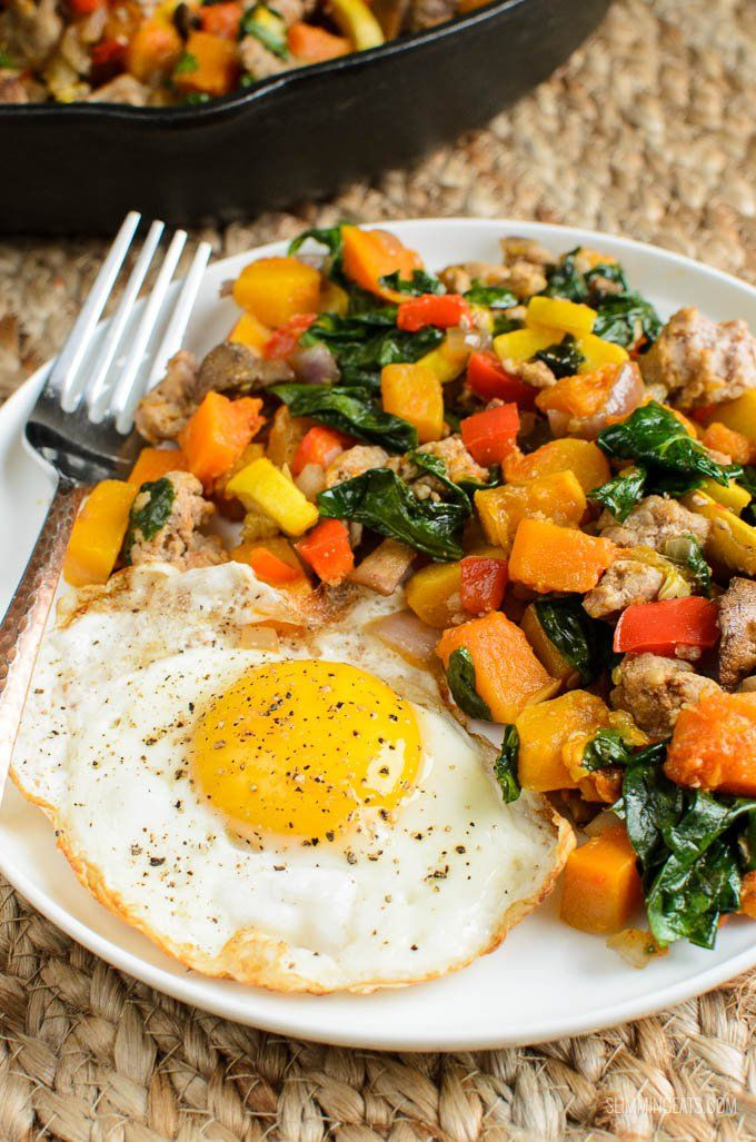 Breakfast Hash - Are you fed up of breakfasts, that have you feeling hungry again before lunch Then this is the breakfast for you.