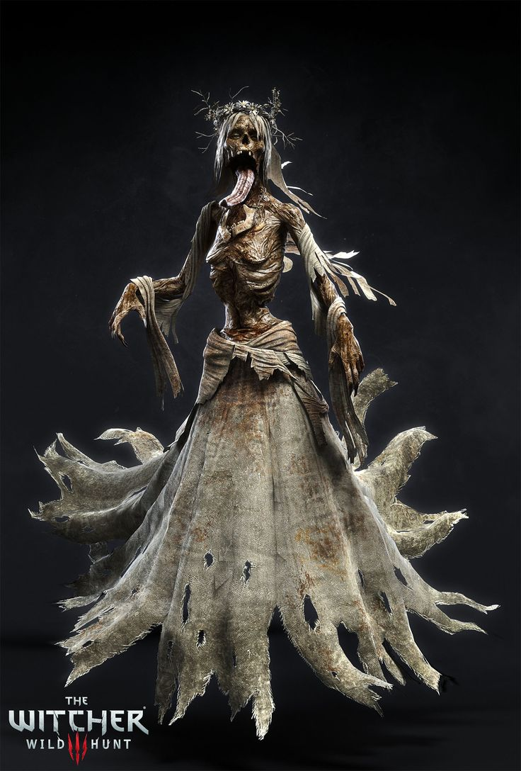 Monster I did for the Blood and Wine expansion pack. It is based on leshen monster but with different torso and head.