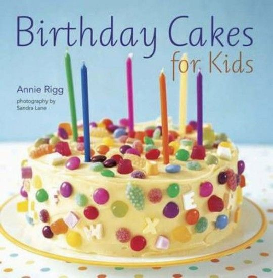 Birthday Cakes For Kids Book £7.79 @ The Book People
