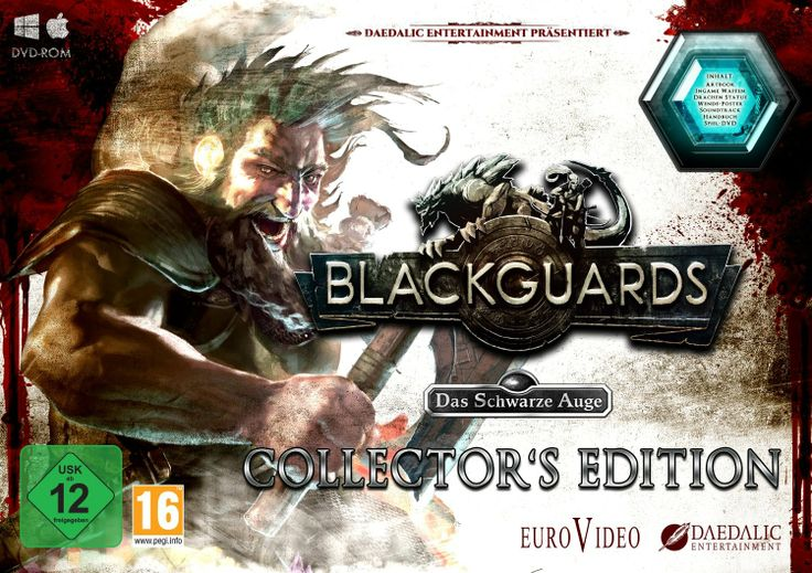 Endlich da!!! Die Collectors Edition von Blackguards. -Blackguards - Das schwarze Auge (Collectors Edition) / PC