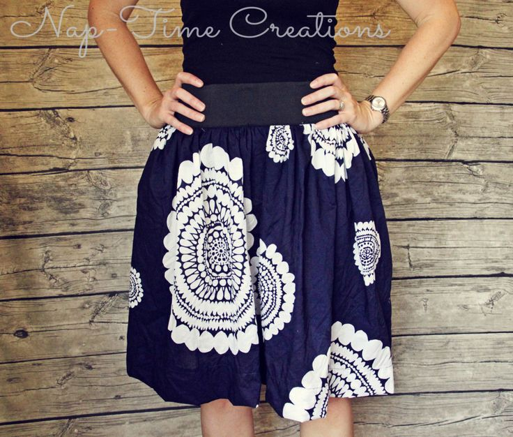 Summer Skirt Sewing Tutorial - Nap-time Creations