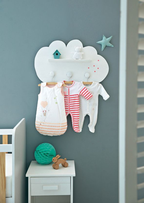 Les 25 meilleures id es de la cat gorie porte manteau for Decoration porte chambre fille
