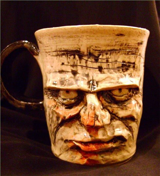17 best images about scary and unique coffee mugs on for Coffee mugs unique design