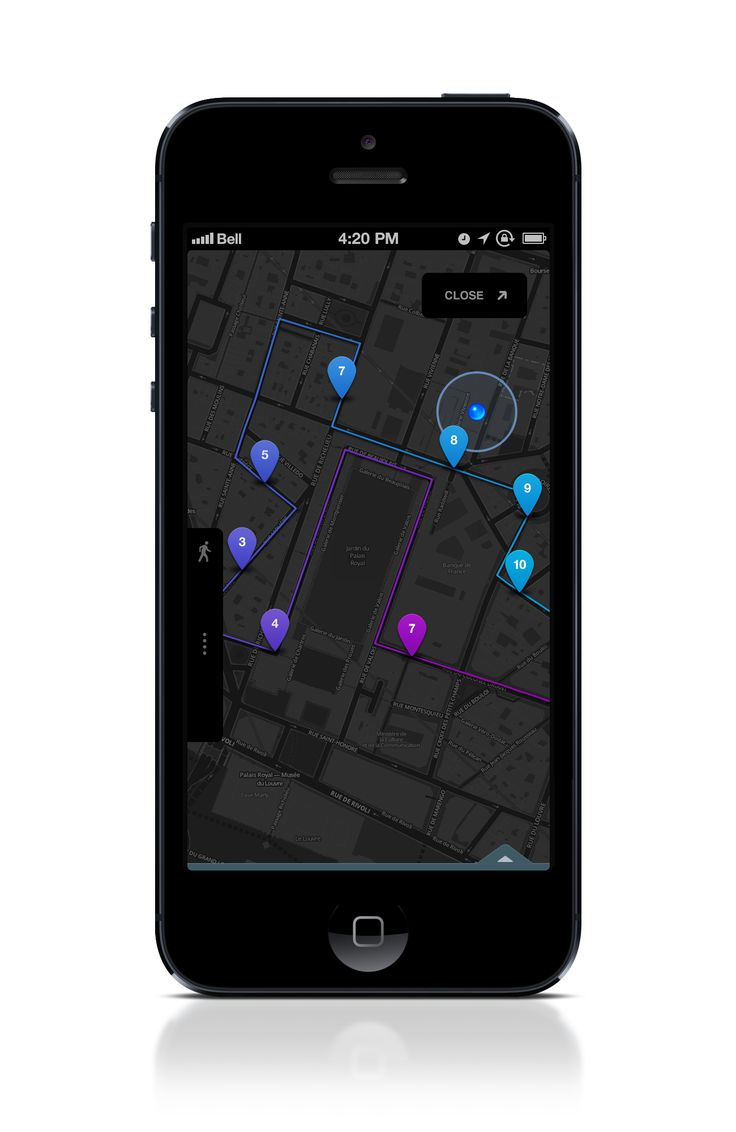 best route tracking app iphone
