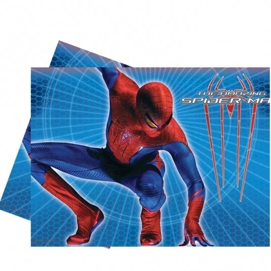 TOVAGLIA DI PLASTICA THE AMAZING SPIDERMAN 120X180CM