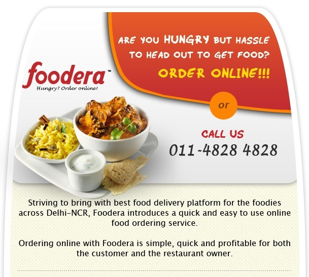 Foodera Email Marketing Campaign sent through Email It - http://www.emailit.co