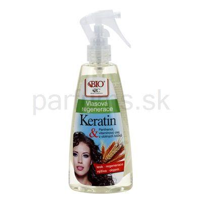 Bione Cosmetics Keratin Grain, bezoplachová regeneračná starostlivosť v spreji | parfums.sk