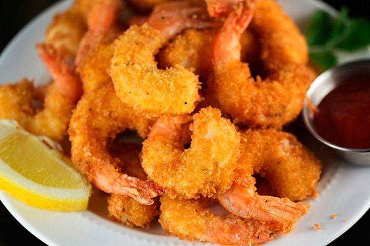 ✔️ Esta receta de camarones empanizados queda riquísima y es muy fácil de hacer. Disfruta de unos camarones recubiertos de un rebozado crujiente. Deliciosos!!